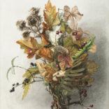Afbeelding   Gerardine van de Sande Bakhuyzen   Stilleven met herfsttakken