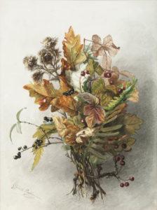 Afbeelding | Gerardine van de Sande Bakhuyzen | Stilleven met herfsttakken