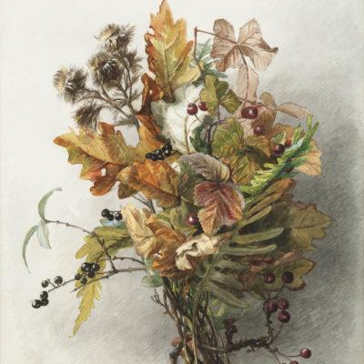 Gerardine Jacoba van de Sande Bakhuyzen | Stilleven met herfsttakken | Kunsthandel Bies