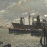 Anthonie Pieter Schotel | Haven van Rotterdam | Kunsthandel Bies