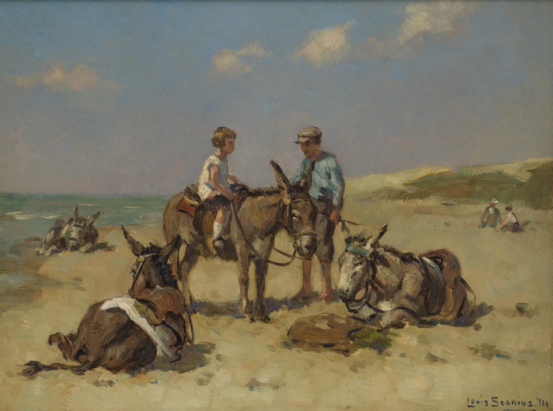 Louis Soonius | Strandezeltjes | Kunsthandel Bies