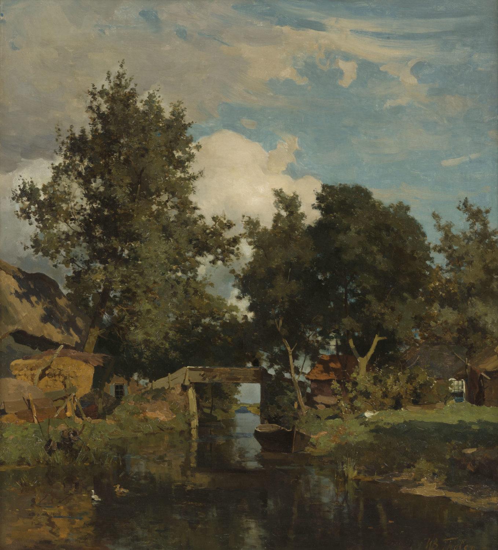 Willem Bastiaan Tholen | Giethoorn | Kunsthandel Bies