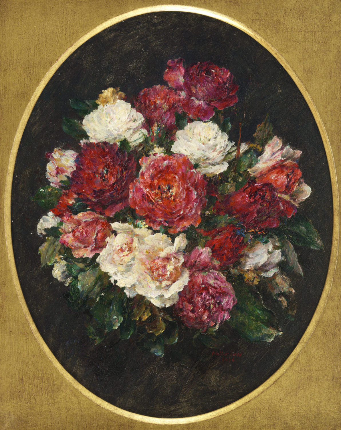 Walter Vaes | A bouquet of roses | Kunsthandel Bies | Bies Gallery
