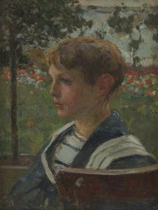 Walter Vaes | Jongensportret | Kunsthandel Bies