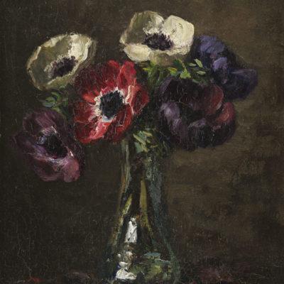 Emanuel Ernest Gerardus van der Ven | Bloemstilleven | Kunsthandel Bies