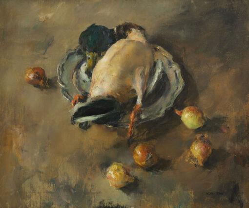 Walter Vaes | Eend en uien | Kunsthandel Bies