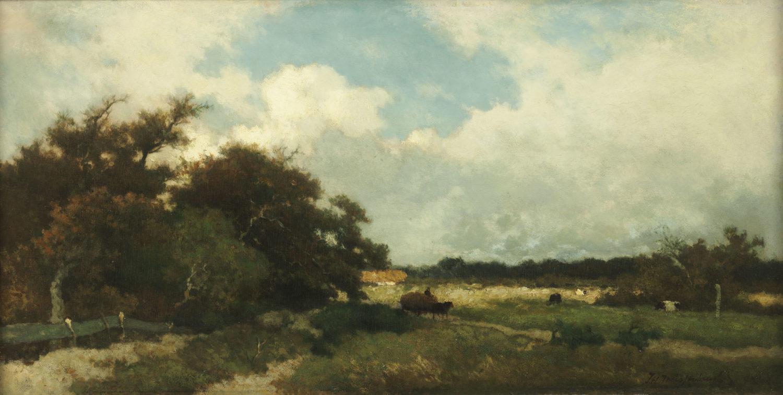 Hendrik Johannes ('J.H.') Weissenbruch | Buiig weer boven Dekkersduin | Kunsthandel Bies