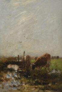 Willem Maris | Koeien aan het water | Kunsthandel Bies