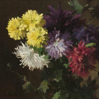 Chris van der Windt | Stilleven met dahlia's | Kunsthandel Bies